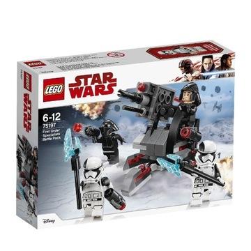 LEGO STAR WARS 75197 Najwyższy porządek Nowy