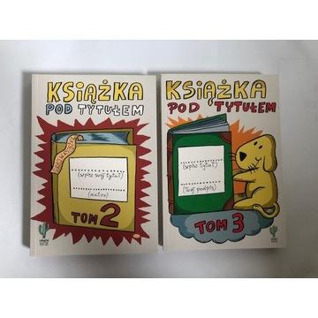 Książka pod tytułem tom 2 i 3 nienaruszone
