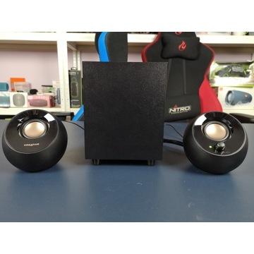 Creative Pebble Plus -mobilny zestaw głośników 2.1