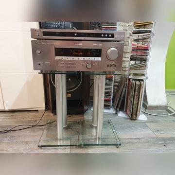 Amplituner wzmacniacz YAMAHA RX-V457 +PILOT +DVD