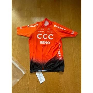 oficjalny strój kolarski CCC exteondo XXL