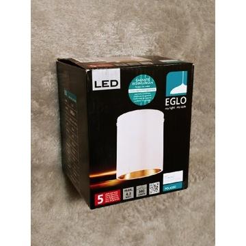 Nowa oprawa stropowa natynkowa biało-złota LED