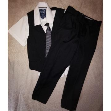 Komplet cool Club 146 kamizelka spodnie 2 koszule