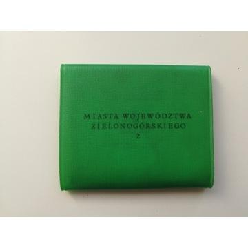 harmonijka pocztówki fotografie woj Zielonogórskie