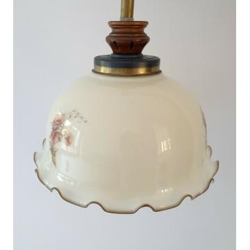 Rustykalna duża lampa sufitowa włoska