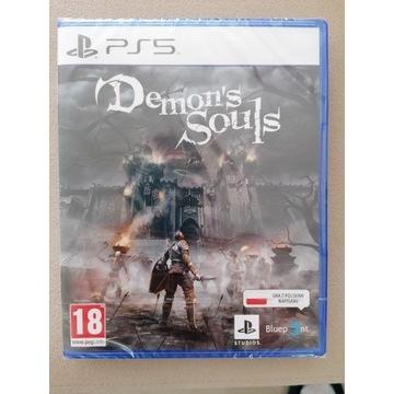 Demons Souls gra na PS5 pudełko Folia NOWA PL