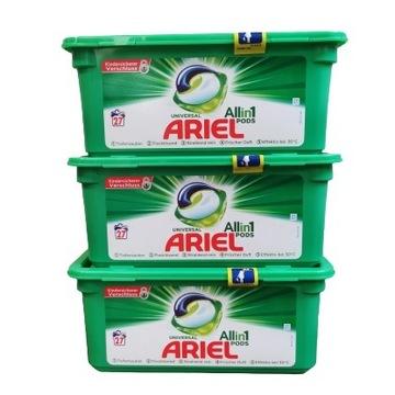 Ariel kapsułki do prania uniwersalne 81 prań/sztuk
