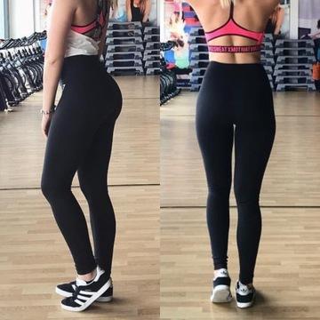 Leginsy GymShark S czarne Dreamy leggins