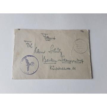 Koperta z listem stempel 1944 r