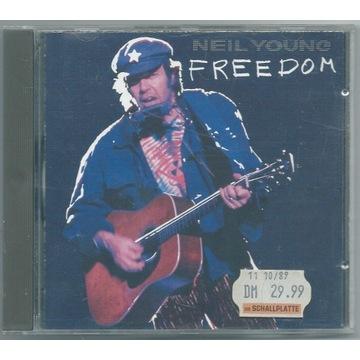 NEIL YOUNG - Freedom - CD Europe UNIKAT