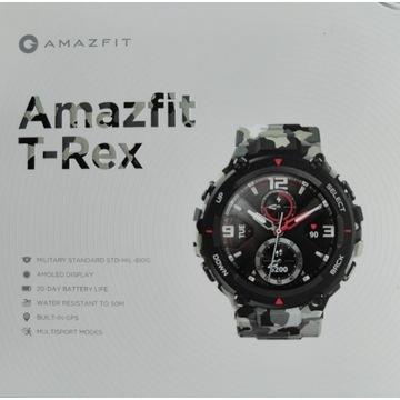 Smartwatch Amazfit T-Rex Camouflage - nowy P-ń