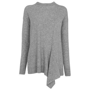 WHISTLES__Kaszmirowy szary sweter w roz. 36