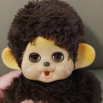 Małpka Monchhichi oczy zamykające