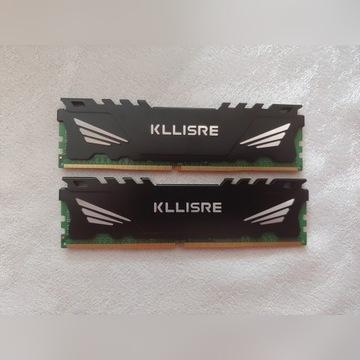 KLLISRE PAMIĘĆ RAM DD4 2X4GB 2400MHZ