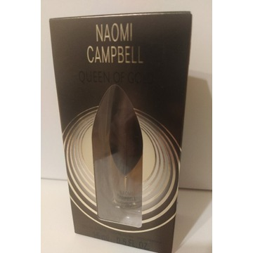 Naomi Campbell Queen of gold perfumy