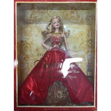 Świąteczna  Barbie BDH13 Lalka Kolekcjonerska
