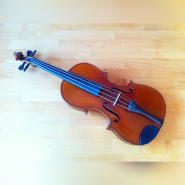 Starsze skrzypce 4/4 francuskie albo niemieckie