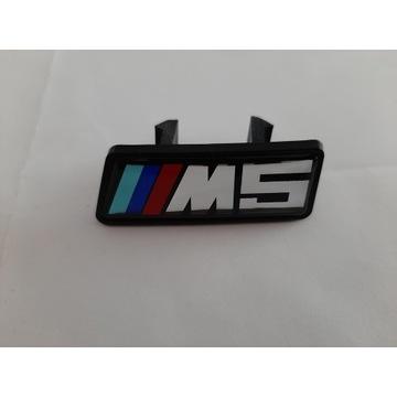 Emblemat zmaczek ///M5 na grill nerki