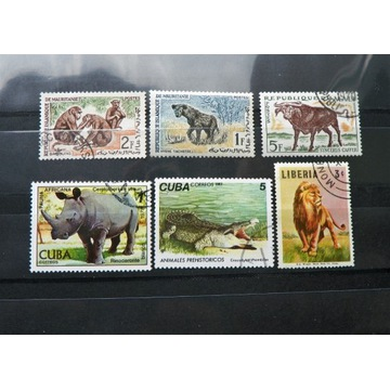 81# Cuba, Liberia,   Fauna