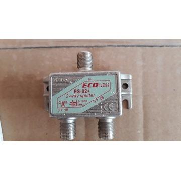 rozdzielacz sygnału 2-way spliter EcoLine ES-02+