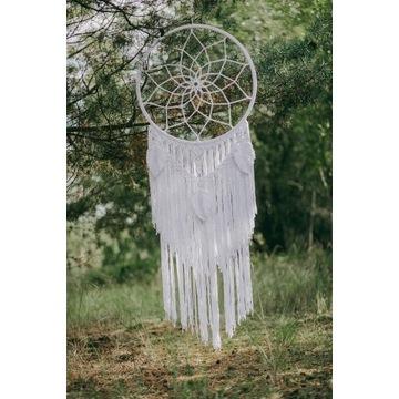 Łapacz makrama dekoracja ślubna boho