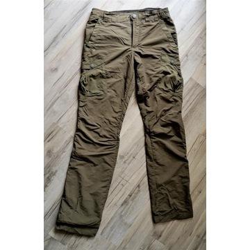 Spodnie turystyczne QUECHUA zielony (khaki)