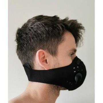 Maska/maseczka antywirusowa/antysmogowa PM 2.5 N99