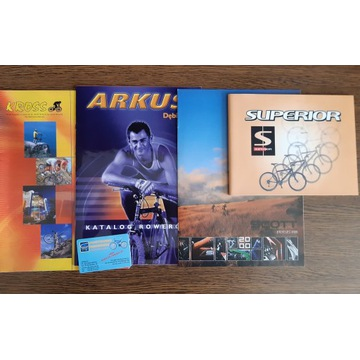 Arkus Kross Scott Superior - katalogi rowerów 2000