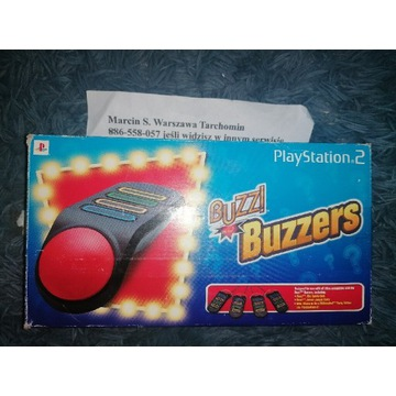 Buzzery kontrolery do gry Buzz! Na kablach