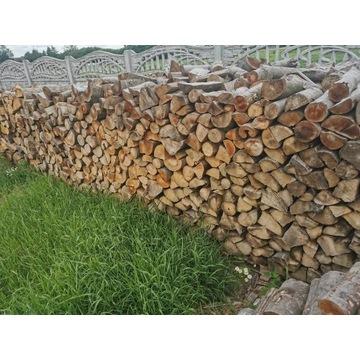 Drewno kominkowe, drzewo opałowe suche, sezonowane