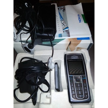 Nokia 6320 - komplet + słuchawki, etui, usb, 512MB