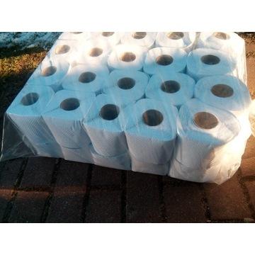Papier toaletowy makulatura biała 40rolek