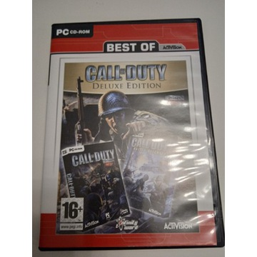 Call od duty Deluxe edition PL PC-CD