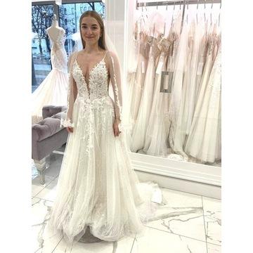 Suknia ślubna Liretta 36 GRATIS welon