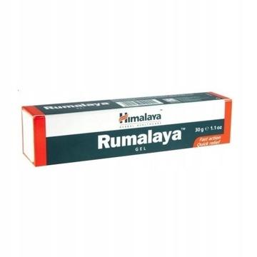 HIMALAYA Rumalaya żel 30 gram bóle reumatyczne