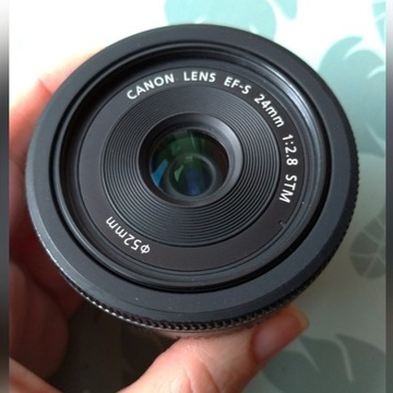 Canon efs  24mm f/2.8 stm jak nowy, sample :)