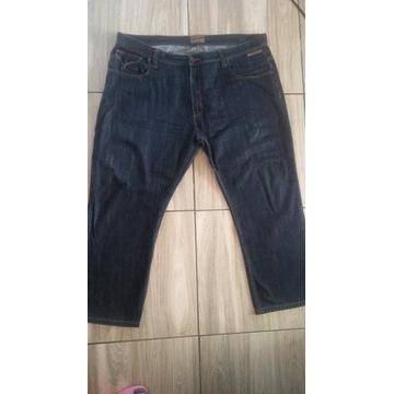 Bardzo duże, męskie spodnie jeansowe MISH MASH
