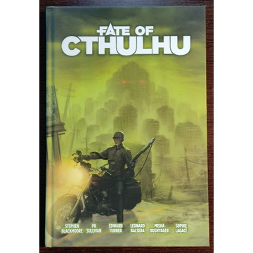 Fate of Cthulhu rpg nowy
