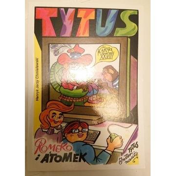 Tytus Romek i Atomek ks XXVIII UNIKAT NOWA