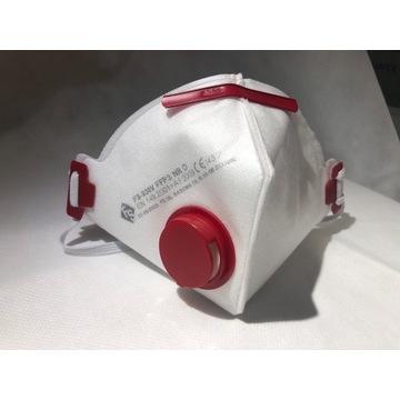 Maseczka ANTYWIRUSOWA Filtr FFP3 Maska ochronna