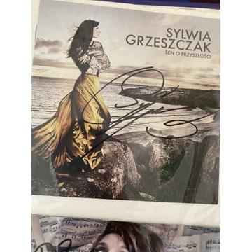 Oryginalny autograf Sylwii Grzeszczak