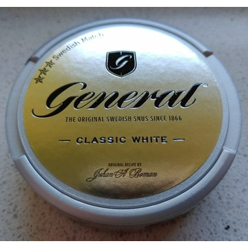 Kolekcja Snus GENERAL classic white