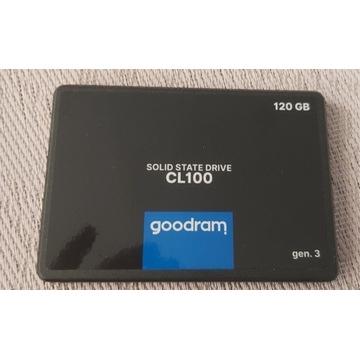 Dysk zewnętrzny, przenosny SSD 120GB, nowy, ideal!