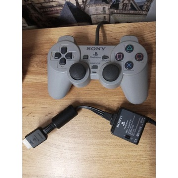 Pad Playstation One PSX PS1 Sony Oryginał + Kabel