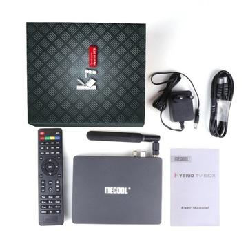 Mecool K7 Android 9.0 RAM 4GB DVB-T2 DVB-C DVB-S2