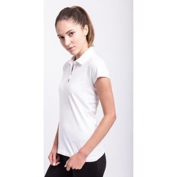 Biała koszulka polo 4F roz. S / 36
