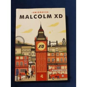 """Książka """"Emigracja"""" Malcolm XD"""