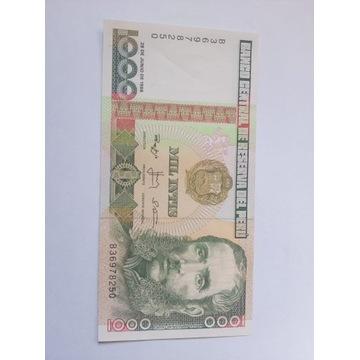 Banknot Peru Fajny stan rzadki