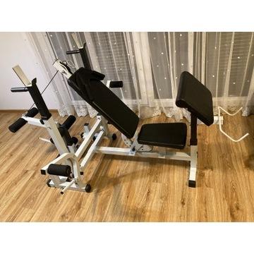 Wielofunkcyjna ławka do ćwiczeń Gorilla Sports