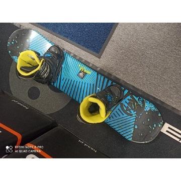 Snowboard K2 komplet deska 110 cm buty 34,5